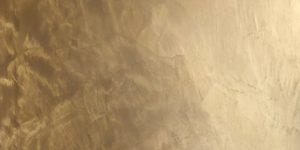 Microciment ambré métallisé