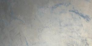 Microciment métallisé Quartz bleu